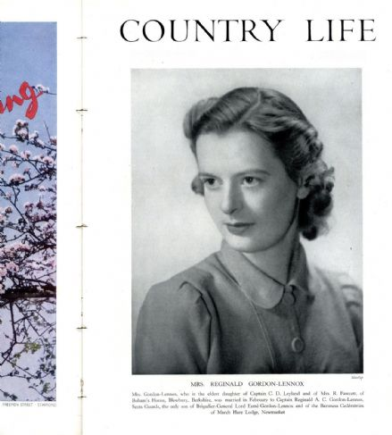1942 COUNTRY LIFE Magazine PAMELA GORDON LENNOX Tyle Mill House Sulhamstead 1632